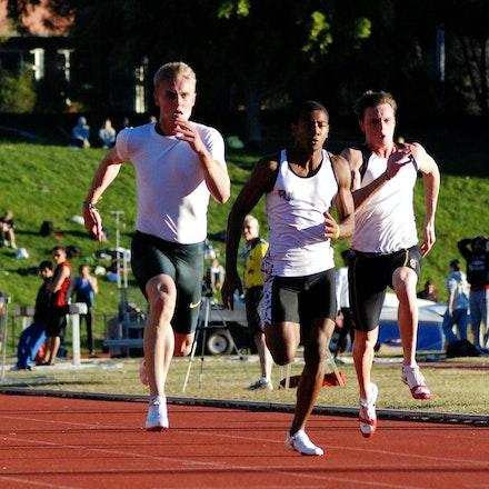 Matt Davies - Matt Davies took out the 2009 Down Under Championships 100m in 10.56 seconds.