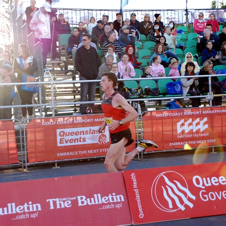 Andrew Ferris - Andrew Ferris finished 8th in the Southern Cross University 10km held in conjunction with the 2009 Gold Coast Marathon, clocking a time...