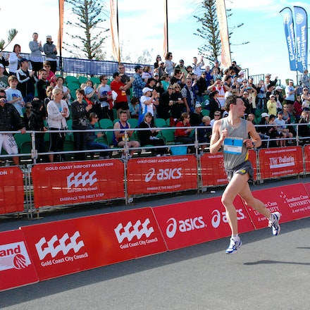Shane Nankervis - Shane Nankervis was second in the 2009 Gold Coast Marathon in a time of 2:16:46.