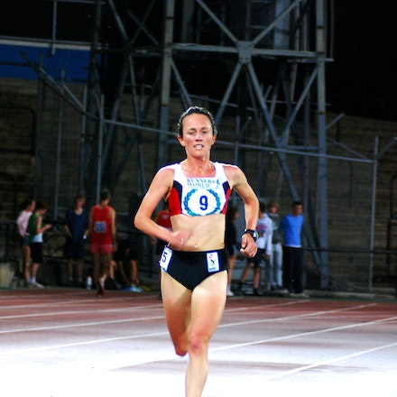 Lisa Weightman - Lisa Weightman took out the 2009 Victorian 5000m title in convincing fashion, winning by 46 seconds in a time of 15:59.15.